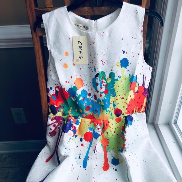 ad60d0e895 Boutique CRFS Dress. New w  Tags. Size M (6-8)